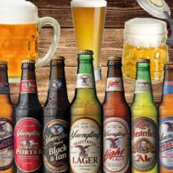 different styles of beer