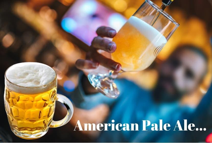American lager beer